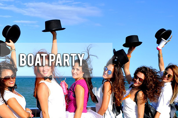 Boat party Guadalquivir